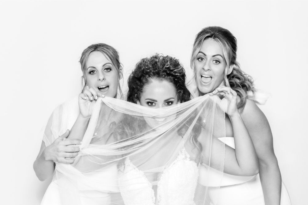 Bridesmaids photo booth experience