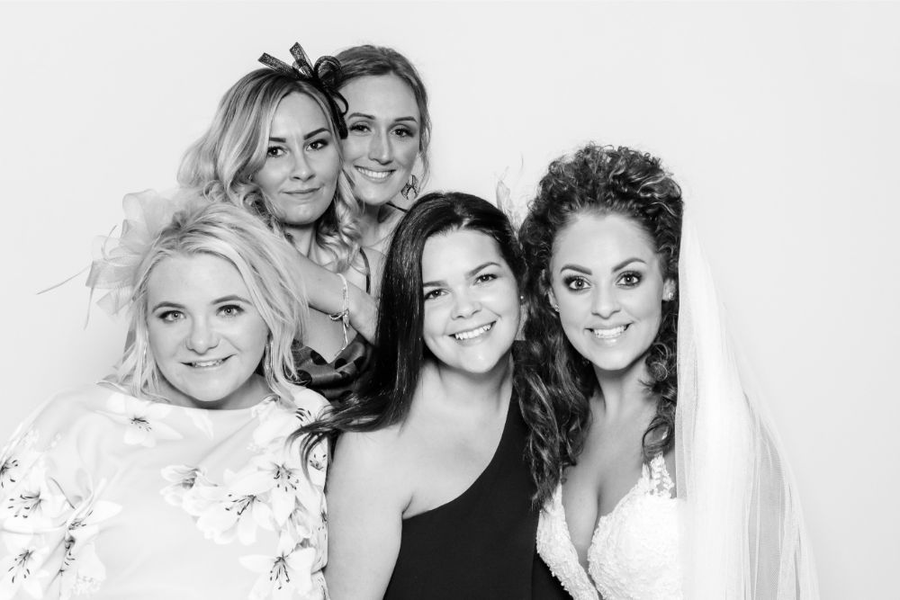 luxury wedding photo booth Cheshire - Booths of Distinction